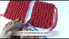 Youtube tricot maille lisiere