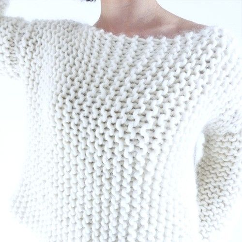 Tricot pull simple femme