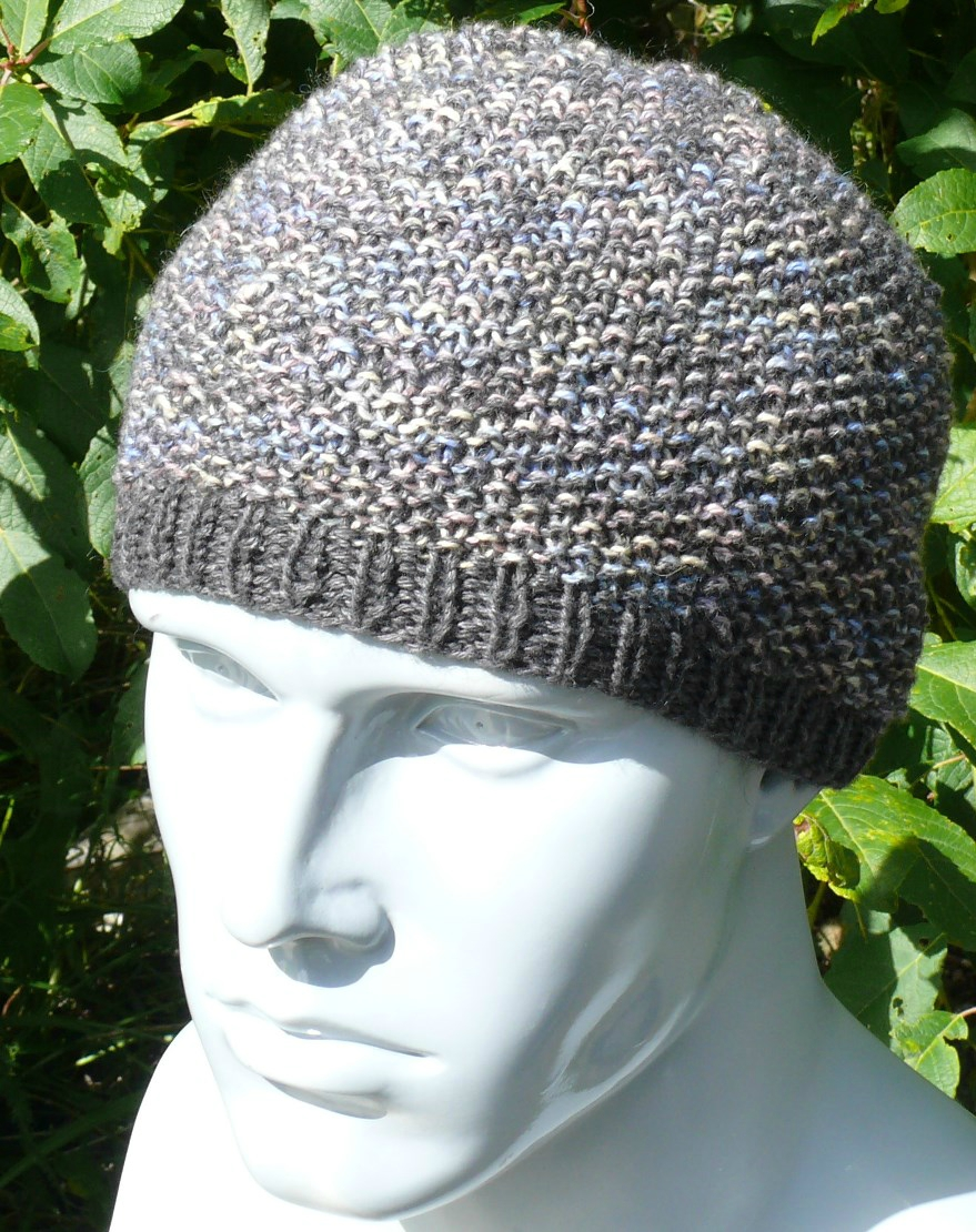 Modele tricot bonnet point de blé