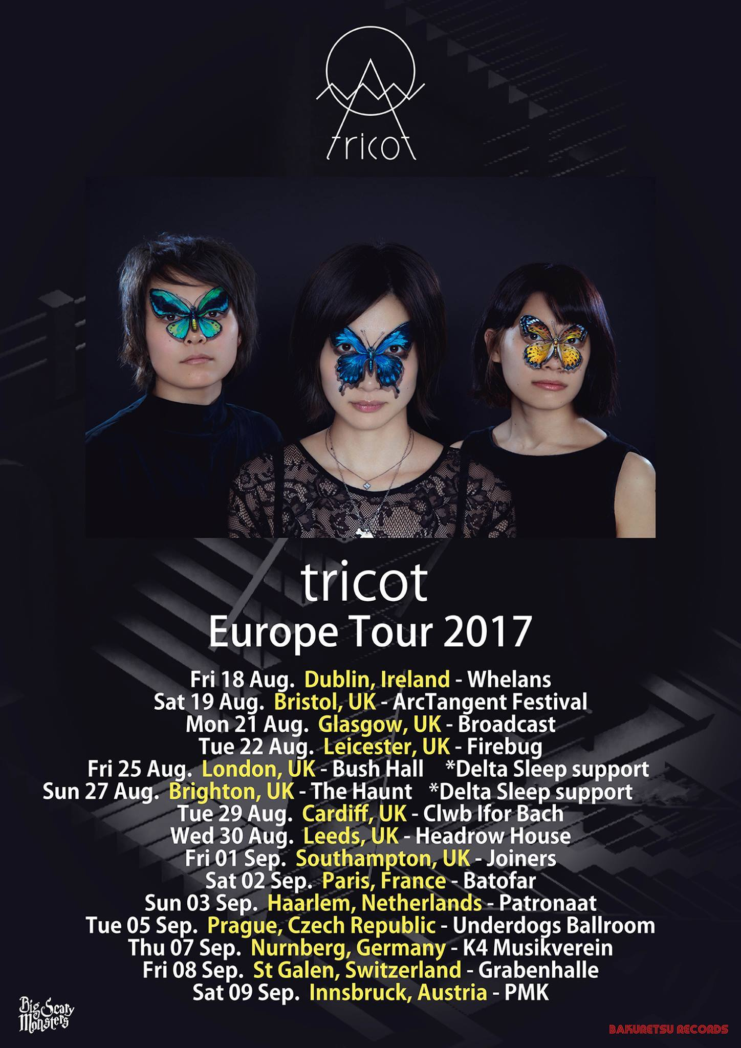 Tricot band interview