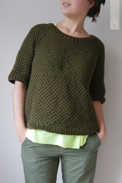 Tuto tricot pull femme simple