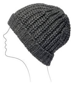 Tricot bonnet maille anglaise