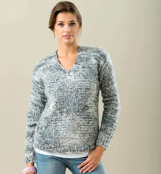 Tricot pull jersey