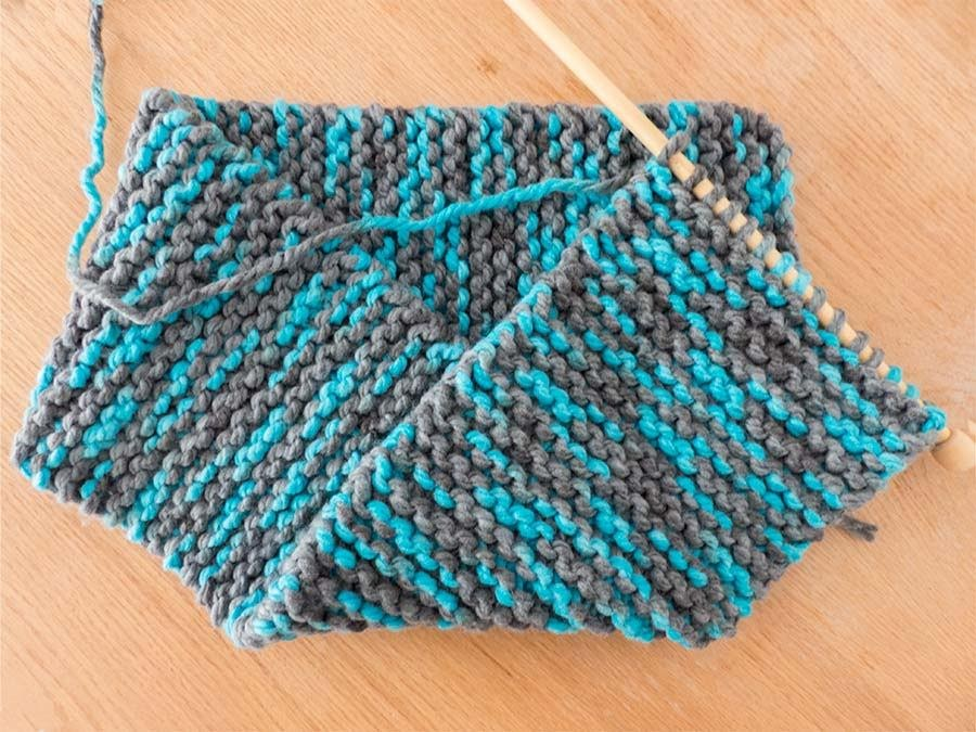 Laine tricot grosse maille