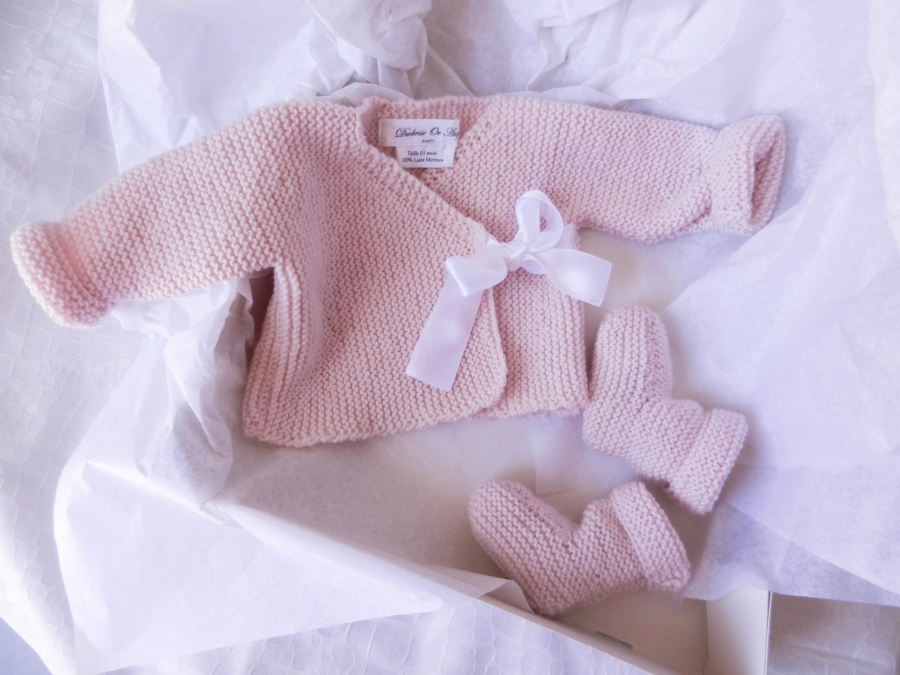 Tricot taille naissance