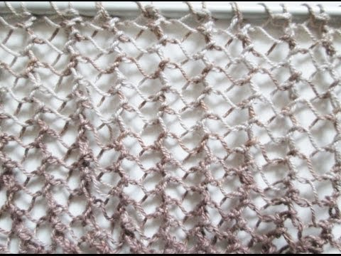 Tricot maille resille