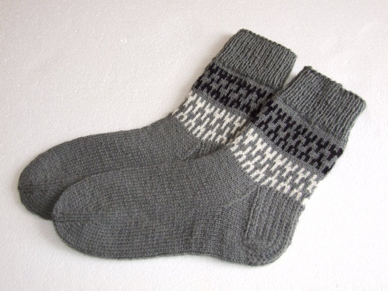 Tricoter chaussettes taille 42