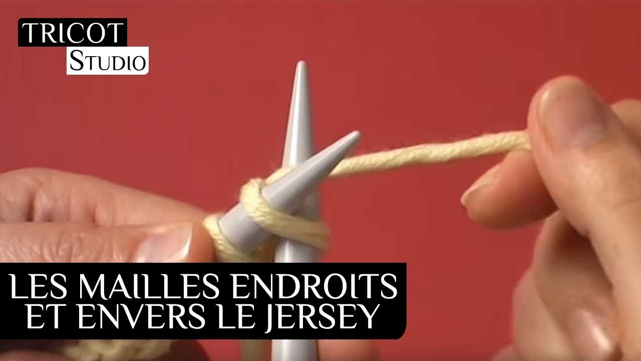 Youtube tricot jersey envers