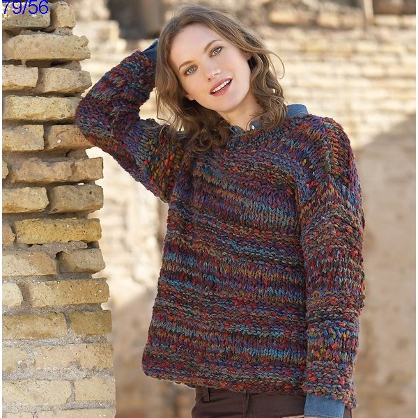 Fiche tricot pull femme