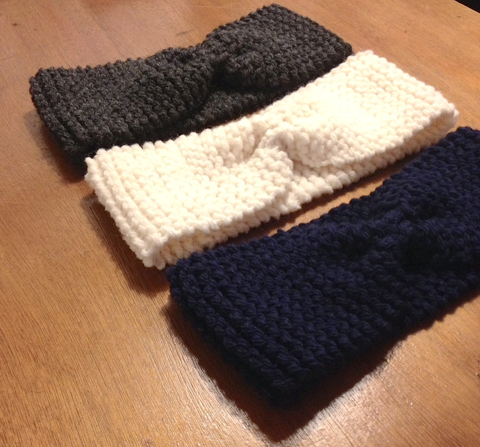Headband tricot explication