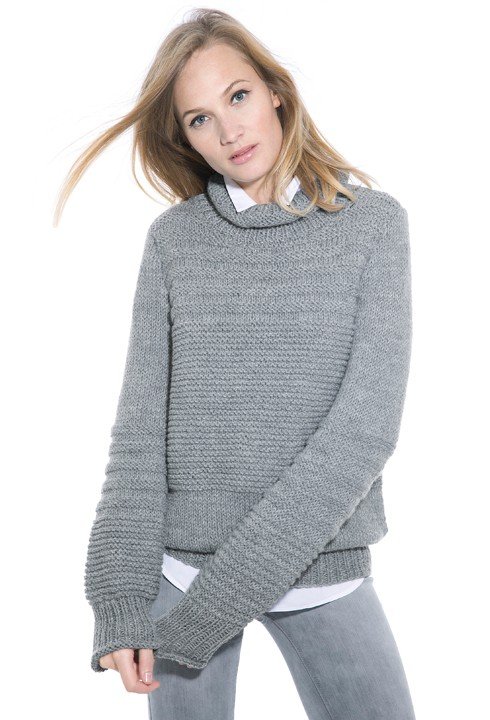 Modele pull homme au tricot