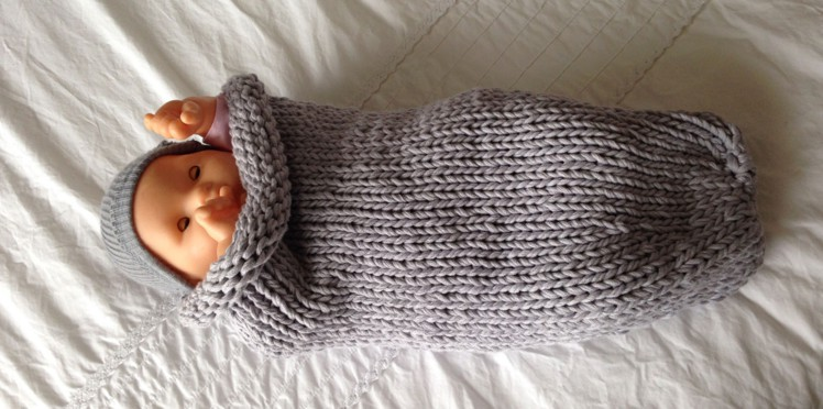 Tricot layette chaussettes