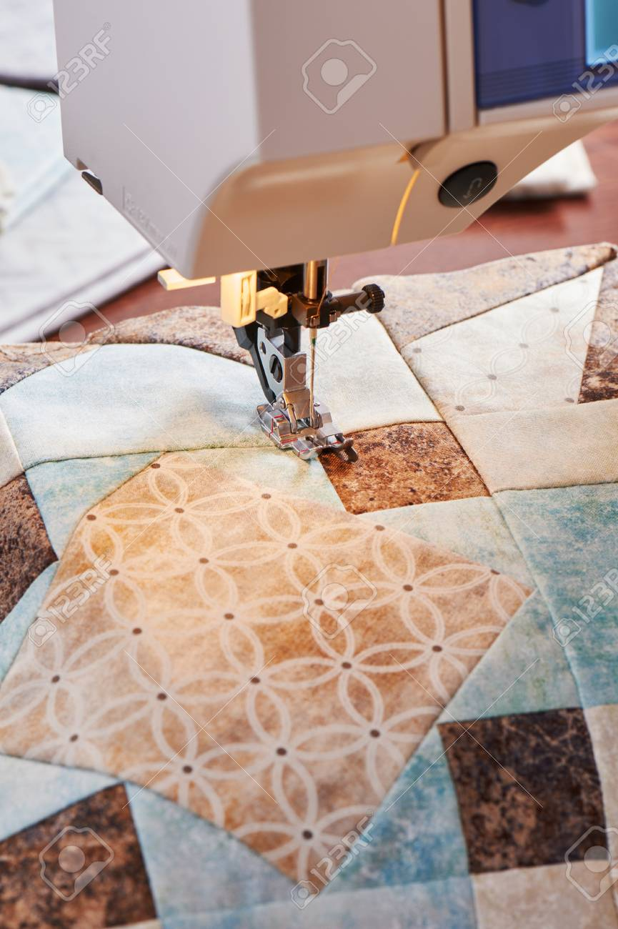 Patchwork machine a coudre