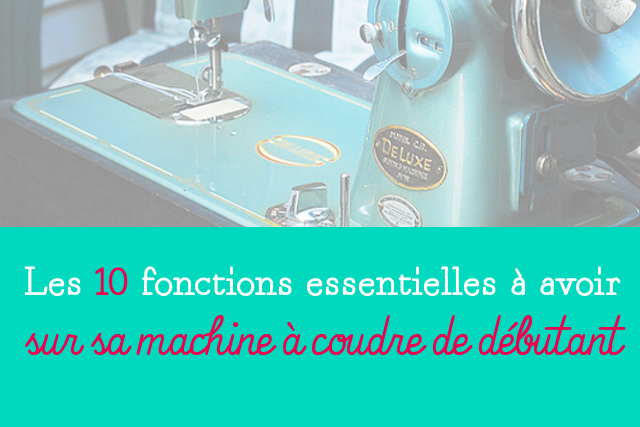 Blog couture machine à coudre