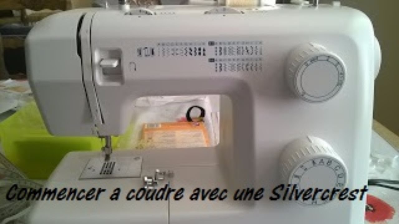 Silvercrest machine à coudre lidl