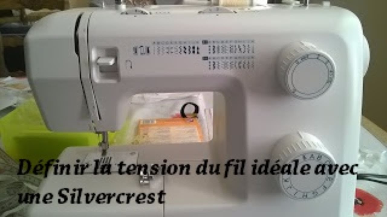 Regler la tension de ma machine a coudre