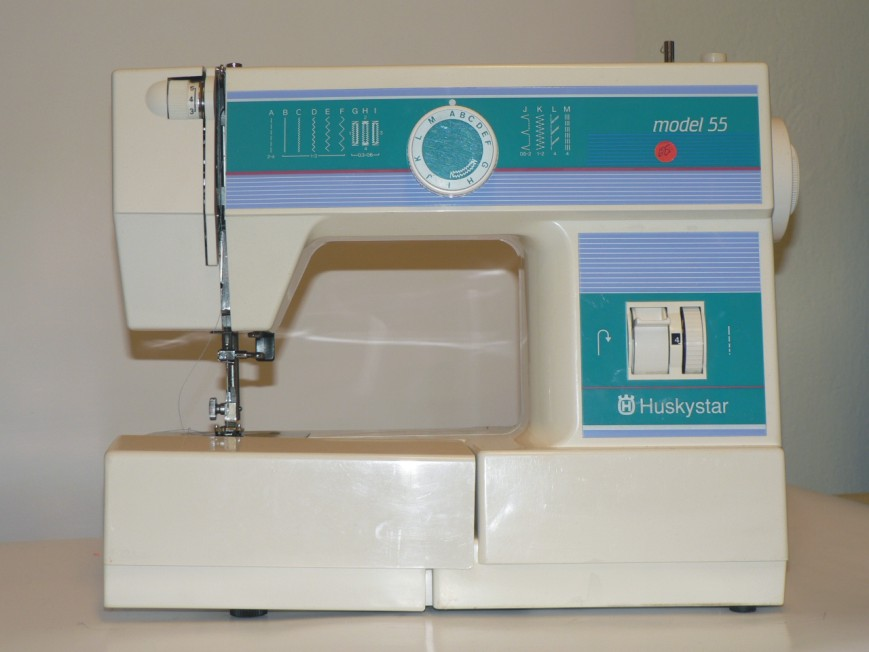 Machine a coudre huskystar model 55